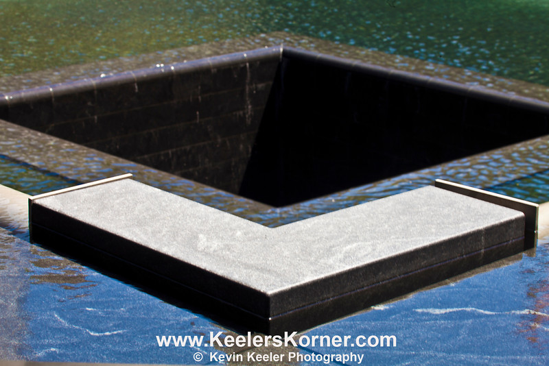 World Trade Center Memorial. Center Void of the South Pool.