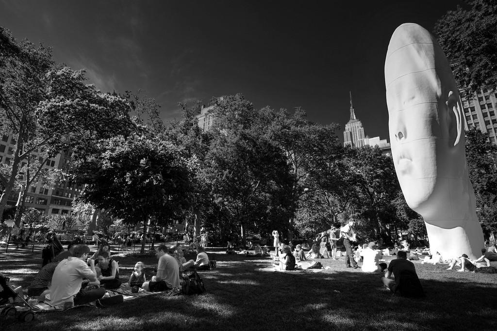 44 feet presence at Madison Square Park