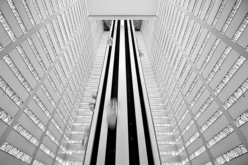 Marquis Space Oddisey<br /> <br /> Found the marquis allien sibling in New York City, this one looks more futuristic so I called this way :-)<br /> <br /> 1/2 sec exposure @ f5.6 - Camera on Gorillapod
