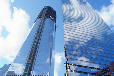 Freedom Tower during construction ref: 252f0ffa-396b-4473-8d67-8fd4a77315a4
