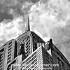 Chrysler Building under a summer sky.