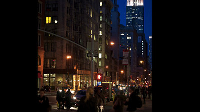 New York City Night - This video is not for sale.