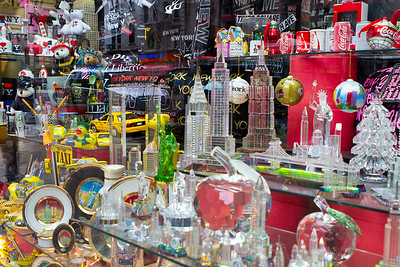 Window display in New York City