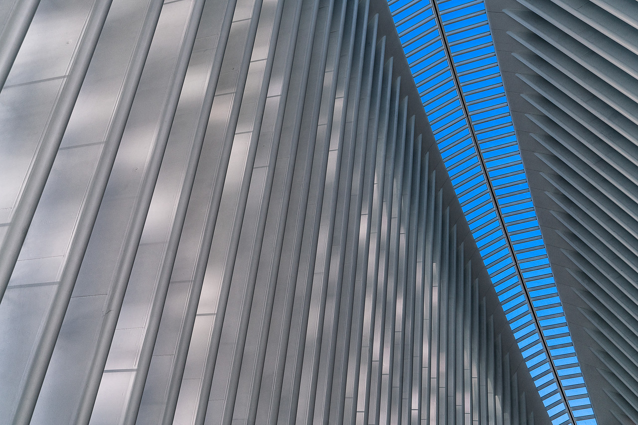 Train Station at World Trade Center, New York City