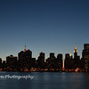 New York City Skyline at dusk from 23rd St. to 45th St.