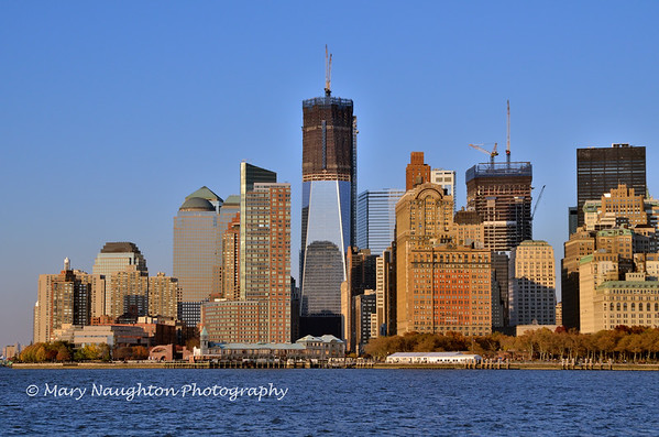 Freedom Tower rising