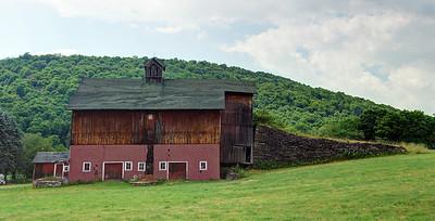 Red barn, Bovina NY