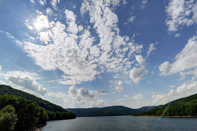 Clouds over Pepacton Reservoir
