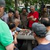 Xiangqi (Chinese Chess). Columbus Park. NYC