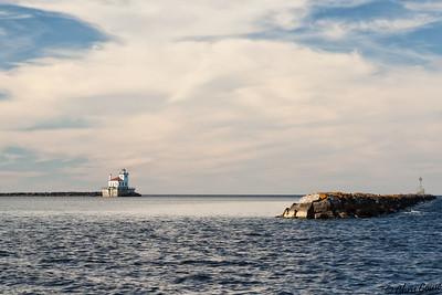 Oswego Harbor - Lake Ontario