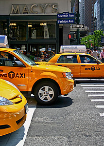 Quite the variety of taxis-