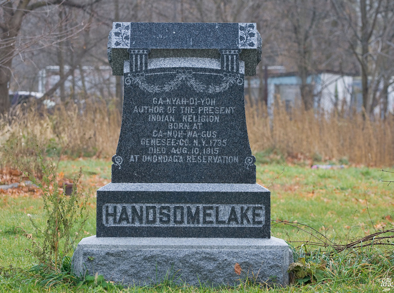 "Burial site of Handsomelake,the spiritual leader of the Iroquois.<br /> <br /> <a href=""http://www.sacred-texts.com/nam/iro/parker/index.htm"">http://www.sacred-texts.com/nam/iro/parker/index.htm</a>"