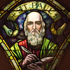 From the Henry Keck stained glass studios. On display at the Onondaga Historical Association museum.<br /> Syracuse,NY
