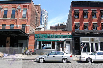 strolling through the meatpacking district and a final visit to Florent .  This Image is © Tricia Chatterton Goldrick/Chattergold Studios.  All Rights Reserved.  No duplication without permission (see commercial downloads).  This image may be purchased from this website for blogging purposes only.