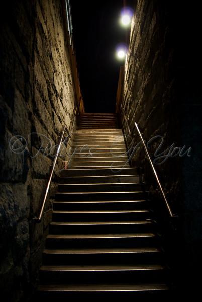 Brooklyn Bridge Stairs