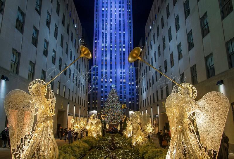 Christmas Tree at Rockefeller Plaza