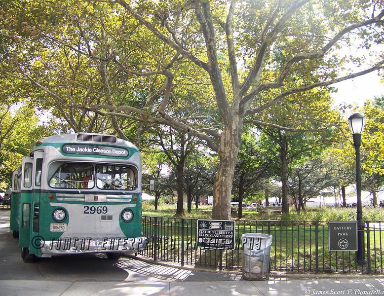 Battery Park; Jackie Gleason