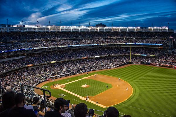 Yankee Stadium in New York city.  20th June, 2014.  Photo by: Stephen Hindley©