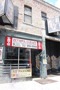 Olympia Garage .  This Image is © Tricia Chatterton Goldrick/Chattergold Studios.  All Rights Reserved.  No duplication without permission (see commercial downloads).  This image may be purchased from this website for blogging purposes only.
