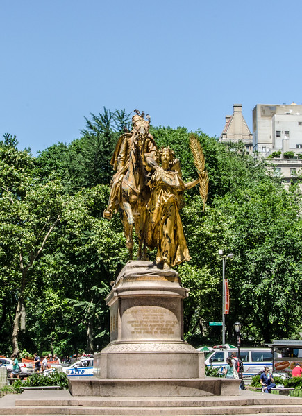 Statue in New York