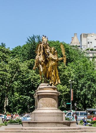 Statue in New York