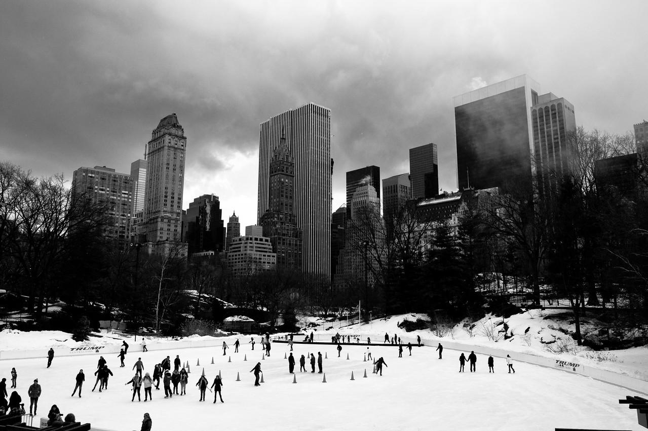 Central Park Ice Skating