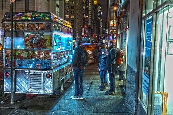 Felafel Truck, Columbus Circle
