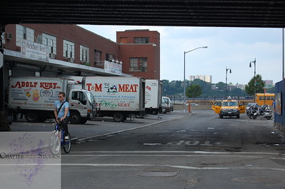 Meatpacking District (it's named that for a reason) .  This Image is © Tricia Chatterton Goldrick/Chattergold Studios.  All Rights Reserved.  No duplication without permission (see commercial downloads).  This image may be purchased from this website for blogging purposes only.