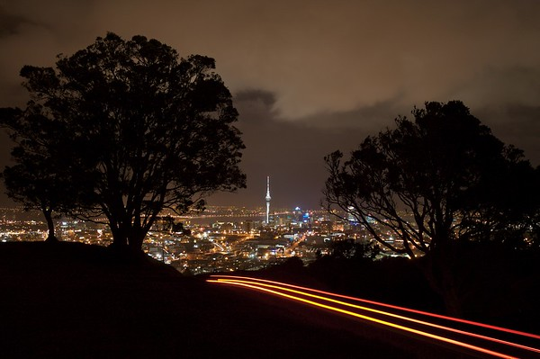 Mt. Eden Overlook. Auckland, New Zealand