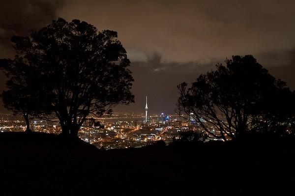 Mt. Eden Overlook. Auckland, New Zealand