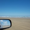 It was heaps of fun driving on the beach with the windows down.