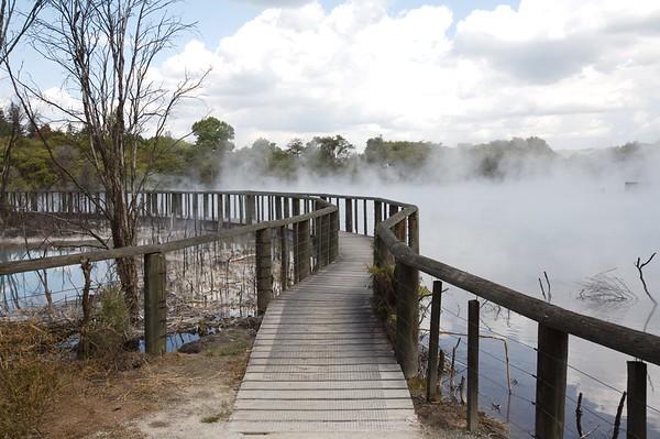 Kuirau Park, 2007