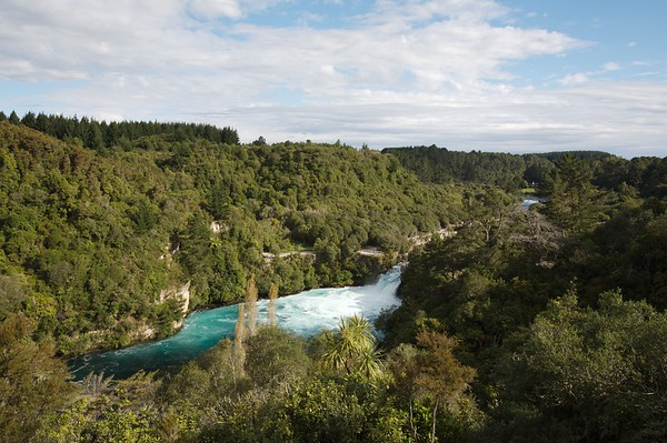Huka Falls Overlook
