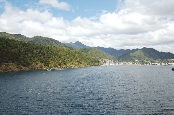 Arriving at Picton