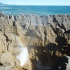 Pancake Rocks Blowhole.
