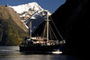 Cruise Boat - Milford Sound, New Zealand