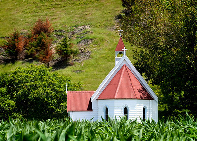 Country Church, North Island, New Zealand
