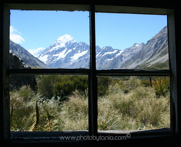 Mt Cook/Aoraki, New Zealand