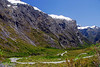 West side of Homer Tunnel - New Zealand