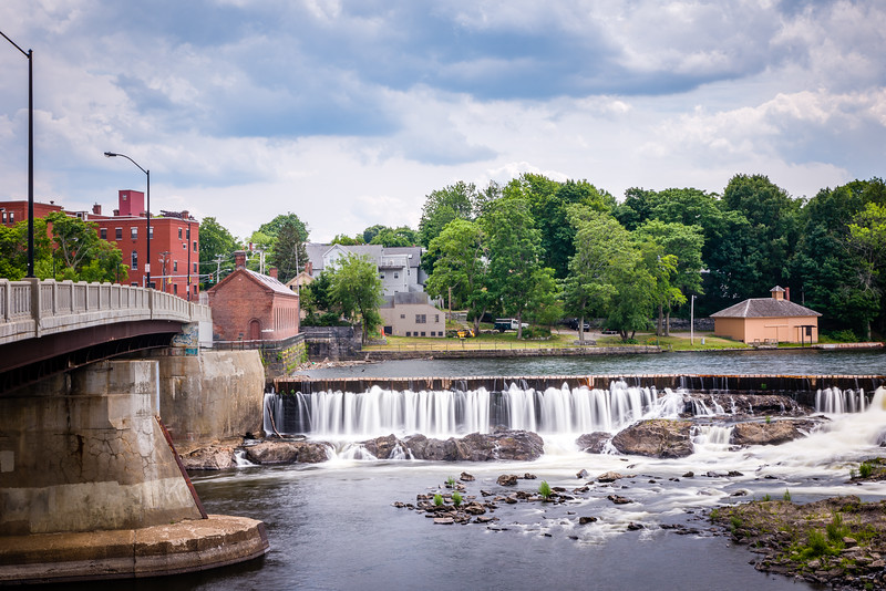 Lowell's Pawtucket Falls and Gatehouse