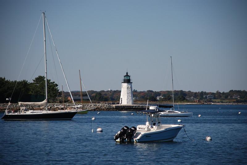 The Goat Island Lighthouse