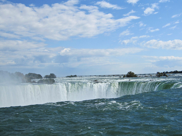 Top of Horseshoe Falls, Niagara