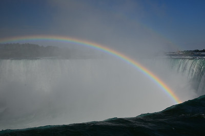 Niagara Falls rainbows
