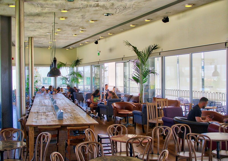 Cafe Nero in University of Cyprus