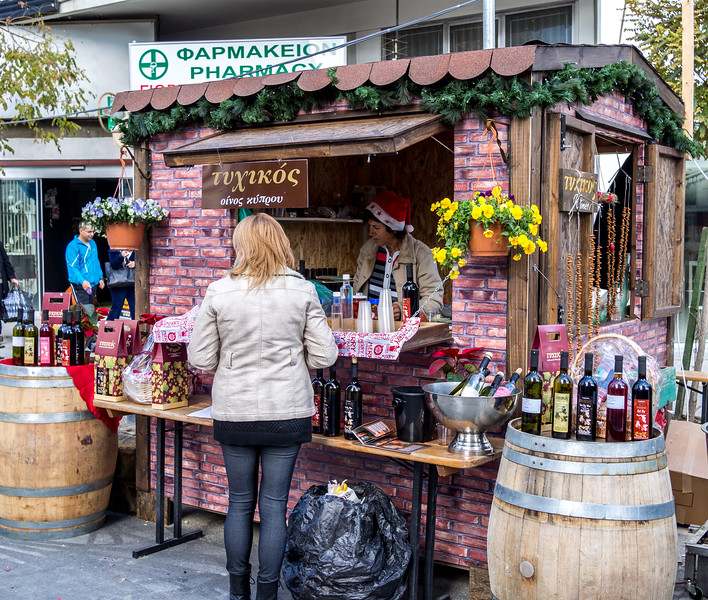 Christmas market in Nicosia