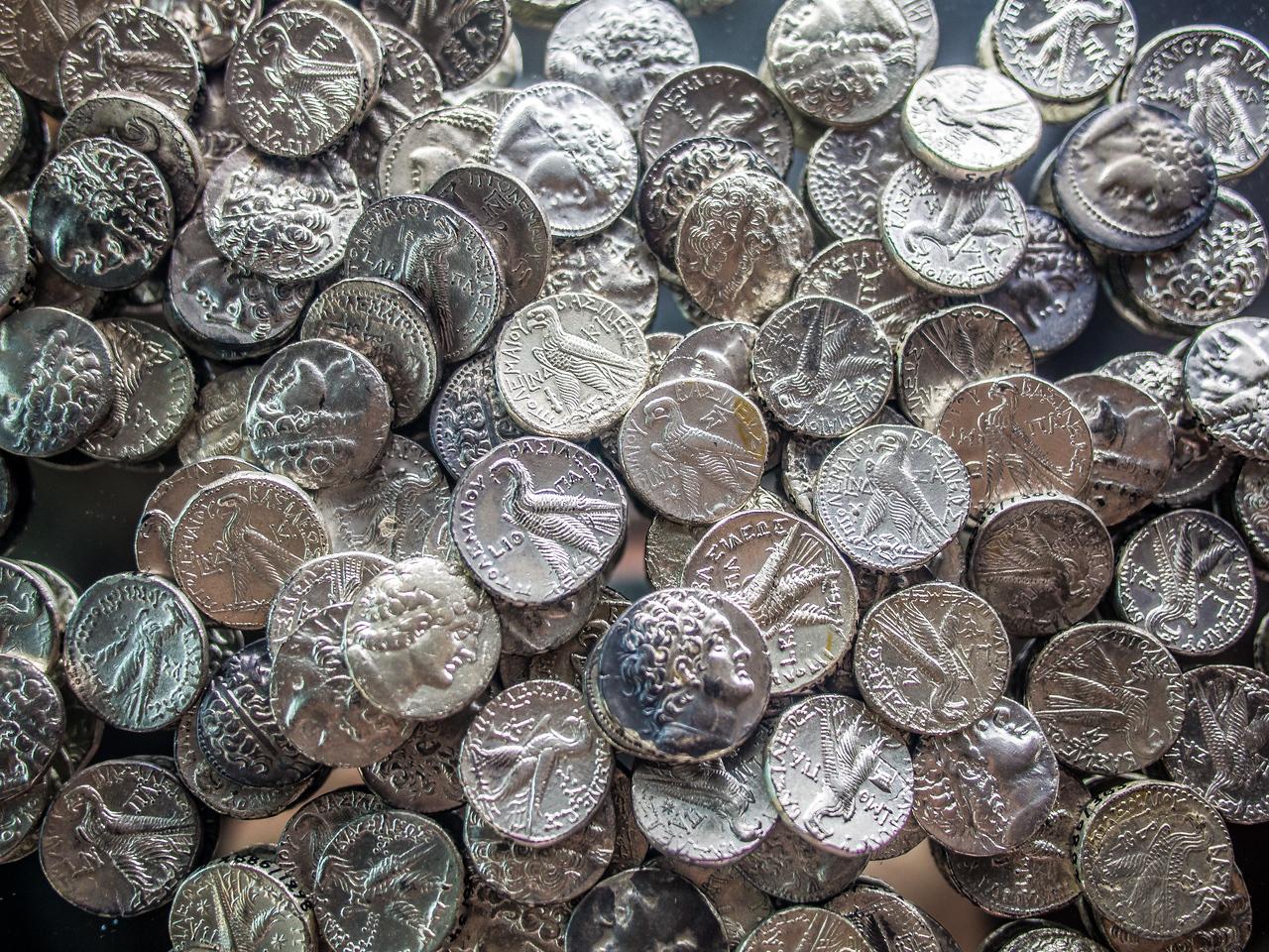 Anciet greek coins