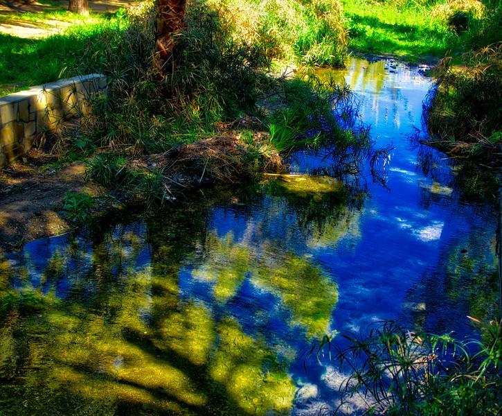 A stream in Athalassa