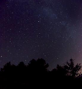 Night sky over Mt. Tam.  ref: 949b0fda-66ac-4baa-b713-da8c8bf5063c