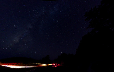 Night sky over Mt. Tam.  ref: 949b0fda-66ac-4baa-b713-da8c8bf5063c