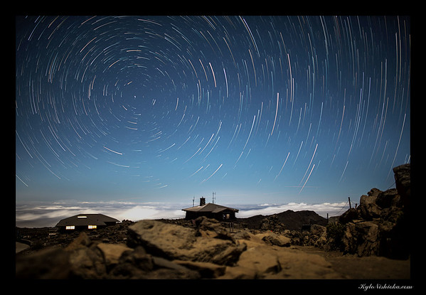 Haleakala star trails